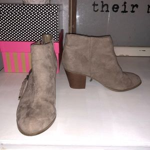 EXPRESS Faux Suede Booties